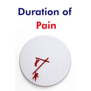 Duration of pain