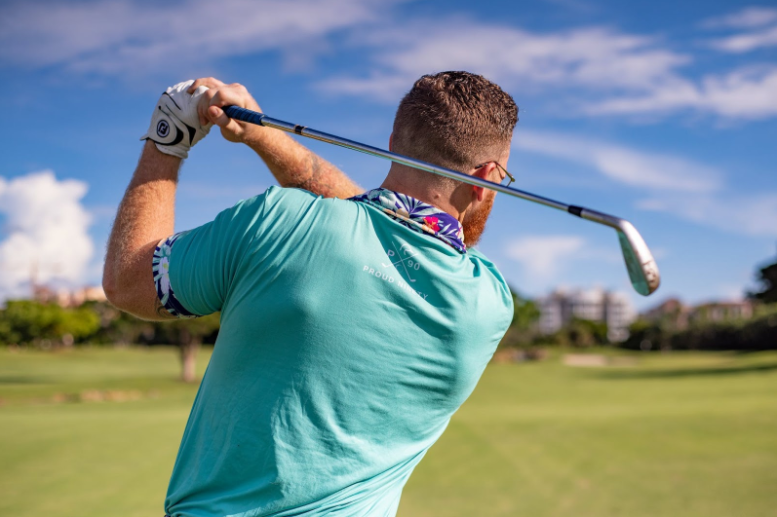 back pain while playing golf
